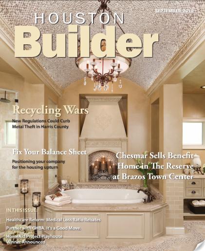 Morning Star Homes Featured In September Houston Builder