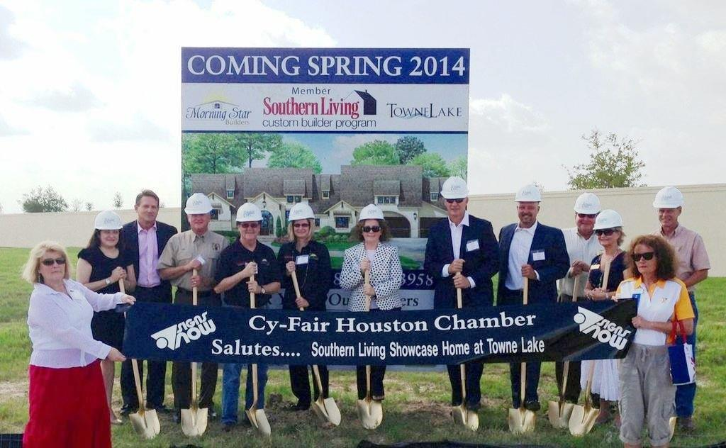 Morning Star Builders Ground Breaking On Southern Living Home