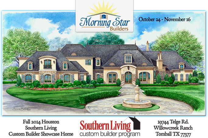 Last Chance To Tour The Fall 2015 Houston Southern Living Custom Builder  Program Showcase Home In Tomball, TX
