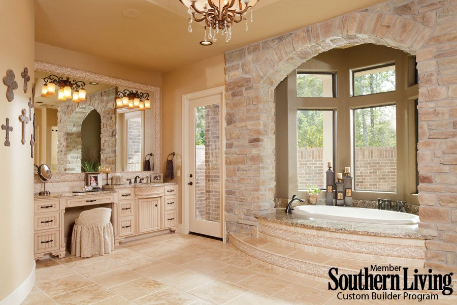 luxury bath from Morning Star Builders of Houston