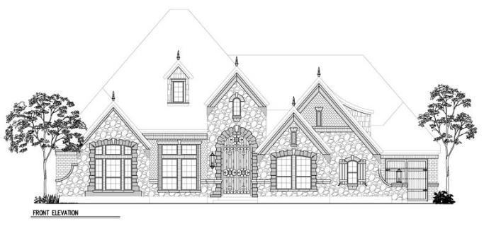 Belle Vue Floor Plan by Morning Star Builders