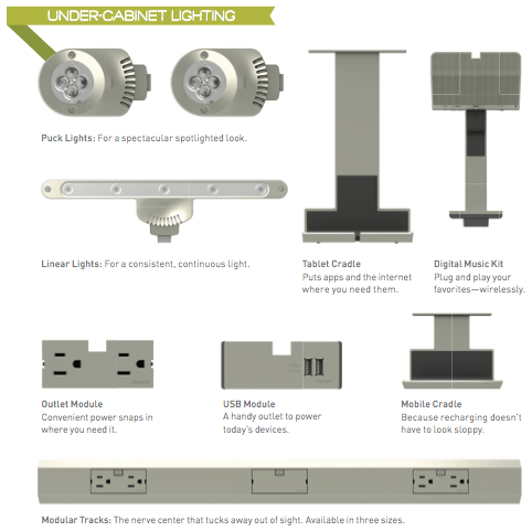 Legrand adorne under cabinet lighting