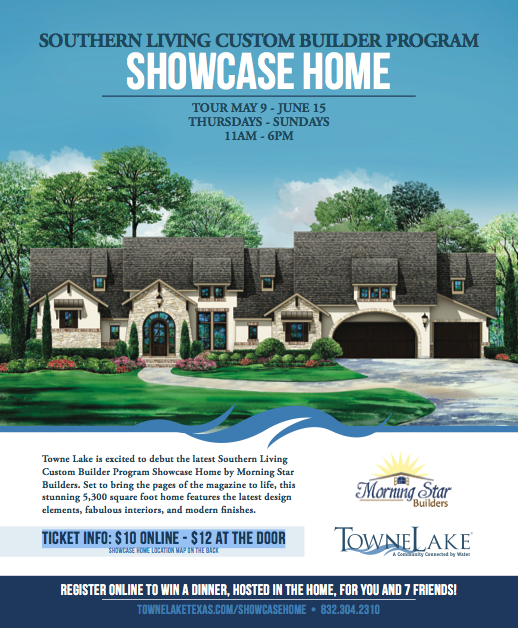 Southern Living Custom Builder Program Showcase Home In