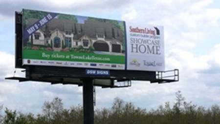 Southern Living Showcase Home of Houston 2014 billboard 290