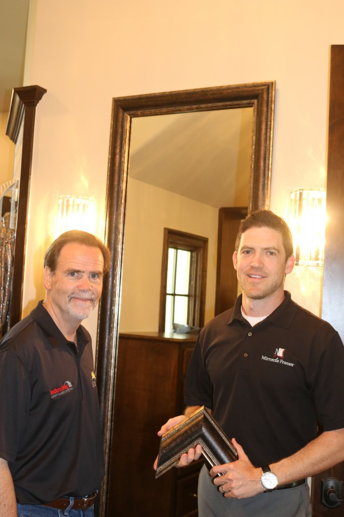 Mirrorcleframes in the Houston Southern Living Custom Builder Program Showcase Home