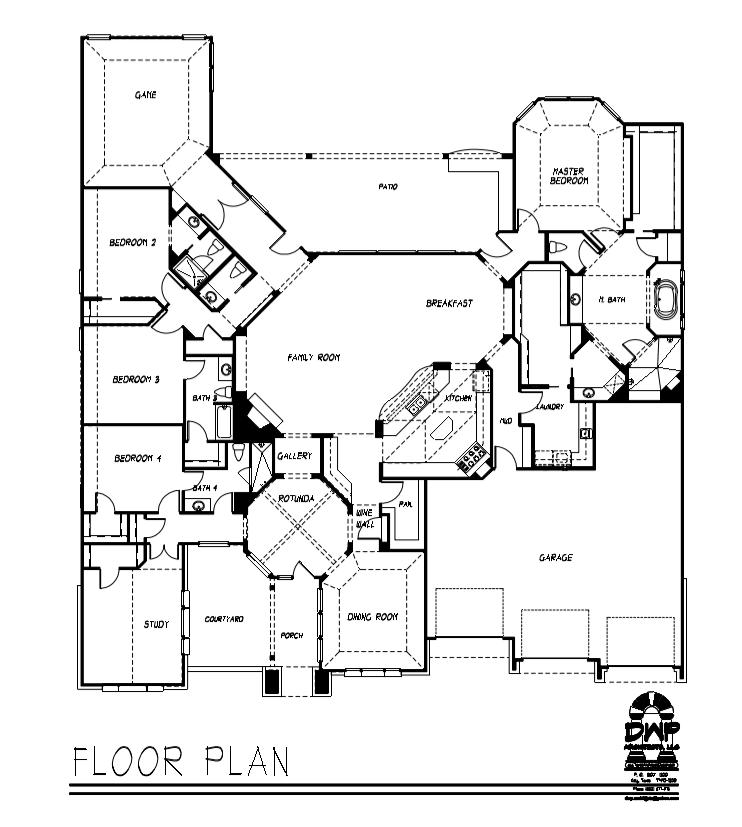 Towne Lake Floor plan