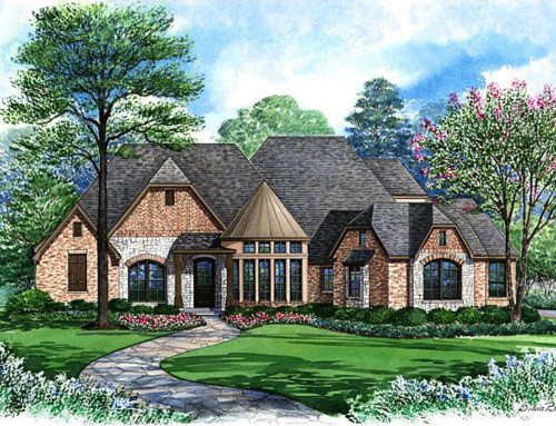 Featured Floor Plan: The Hallmark