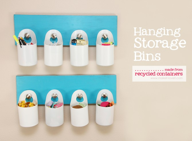 hanging bins