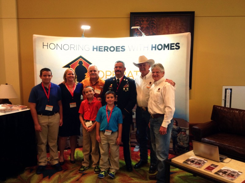 Wounded vet receives mortgage free home from operation for Operationfinallyhome org