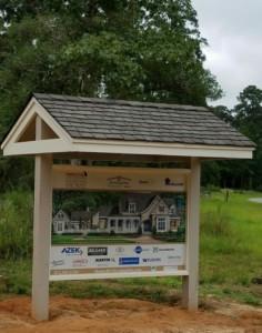 bluejack-national-southern-living-custom-homes-sign
