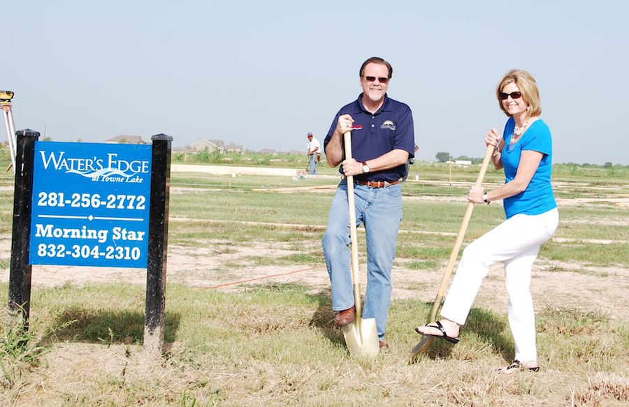 ted-and-yvonne-cummins-preparing-building-lot-for-new-luxury-home-in-houston-texas