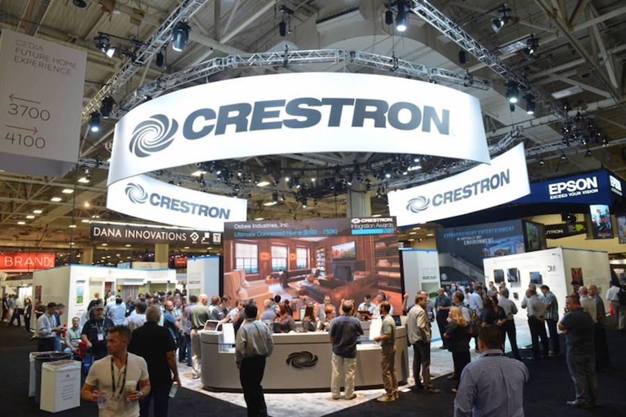 crestron-booth-at-cedia-convention