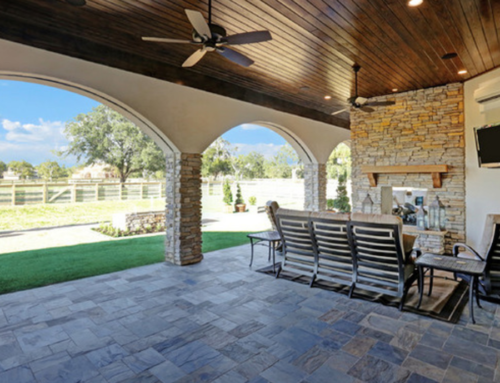 Outdoor Living Spaces For Houston Custom Homes