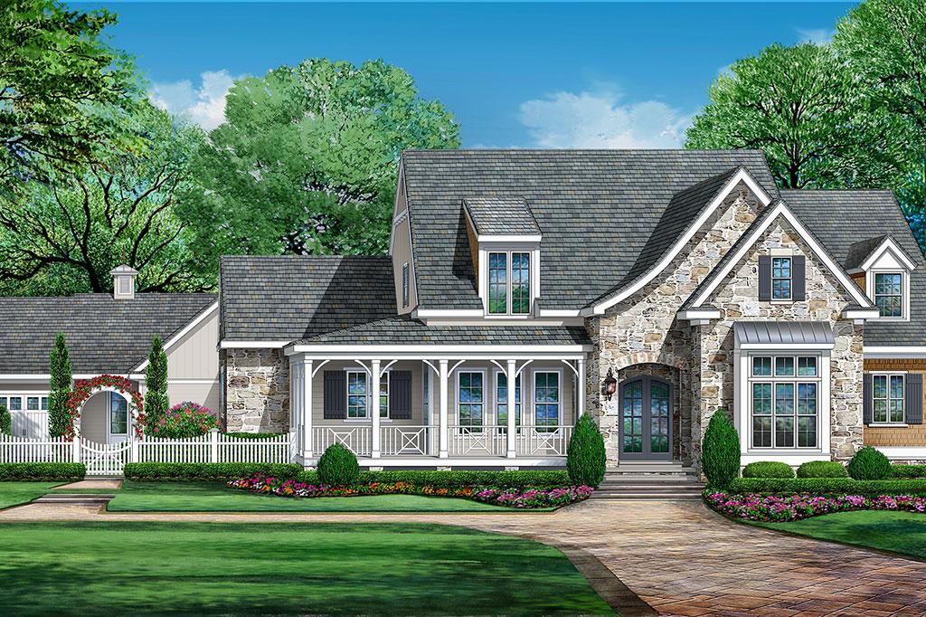 Elegant Southern Living Custom Builder Program Showcase Home