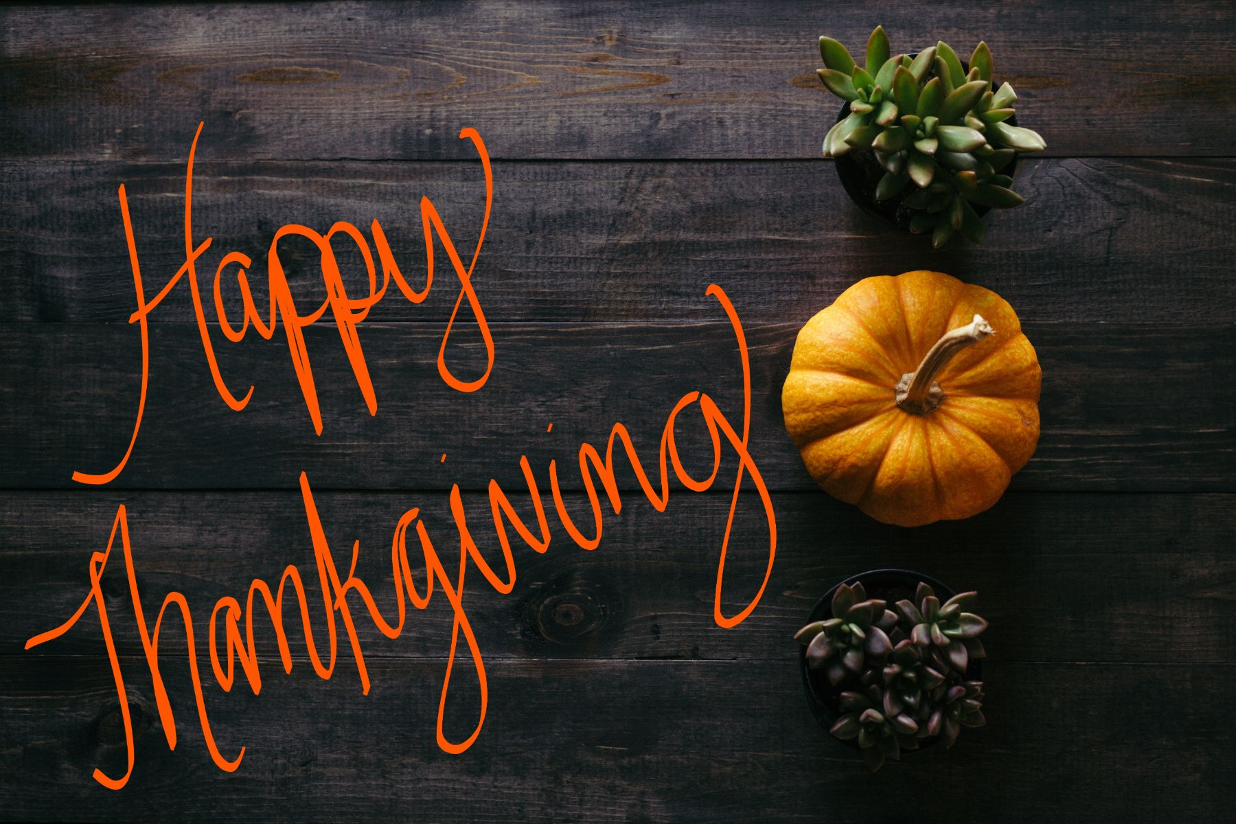 Happy Thanksgiving from Morning Star Builders