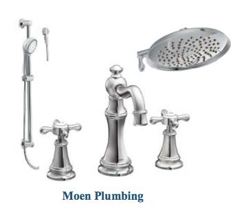 Moen Fixtures Master Bath