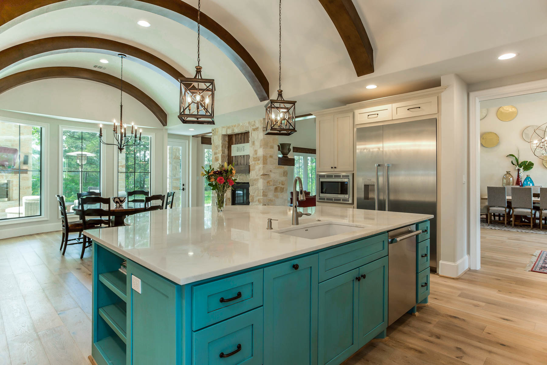 2017 Prism Custom Home Kitchen