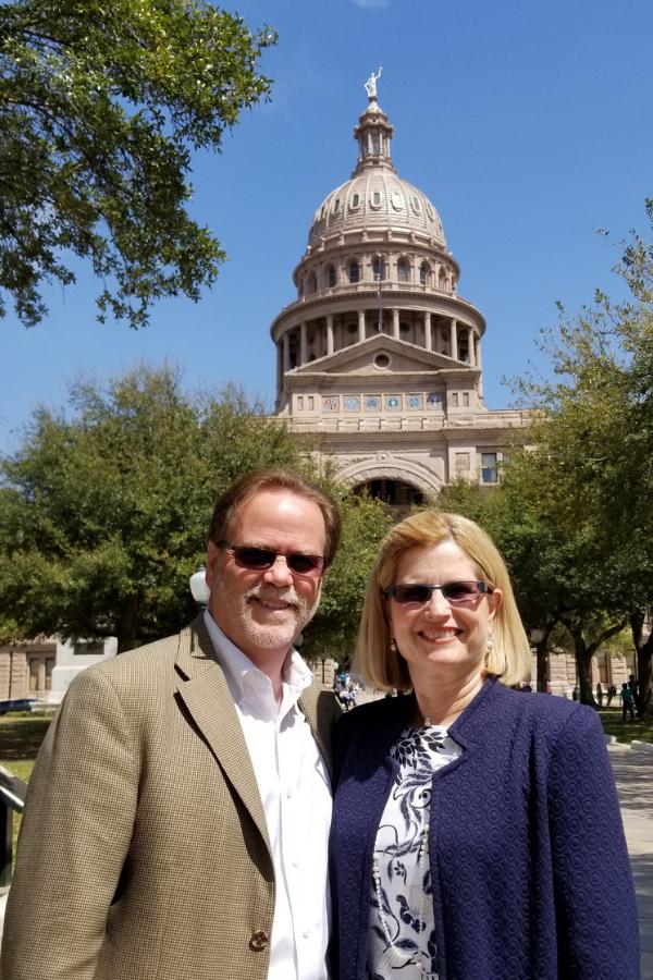 Ted & Yvonne Cummins   2019 Texas Capital Rally Day