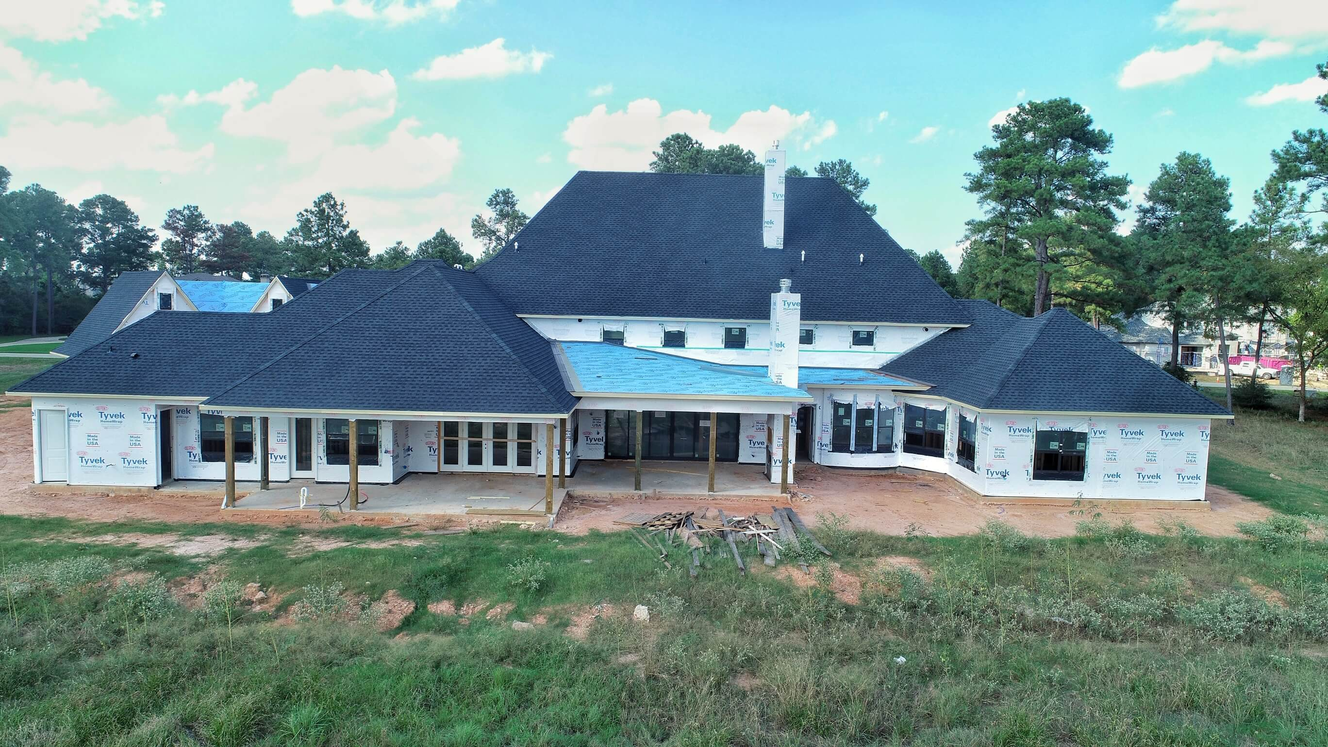 Morning Star Builders Construction Tour Tomball Texas